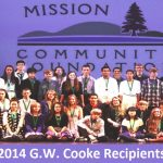 2014 G.W, Cooke Award Recipients