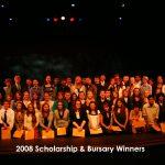 2008 Scholarship & Bursary Winners