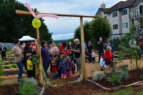 Official Opening of the École Mission Central Elementary Community Garden
